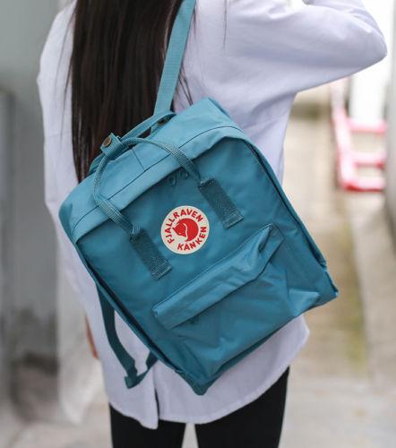 7L/16L/20L unisex Fjallraven Kanken Backpack Travel spalla scuola borse Marca 5