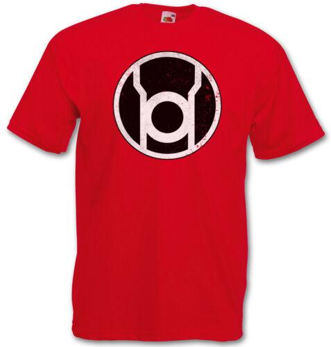 The big red lantern bang theory logo t-shirt-sheldon tbbt style nerd tv Cooper Green