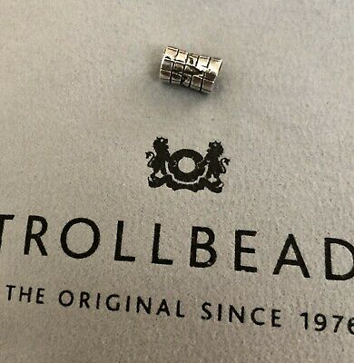 Authentic Trollbeads Sterling Silver 11158 Heart Beat 1