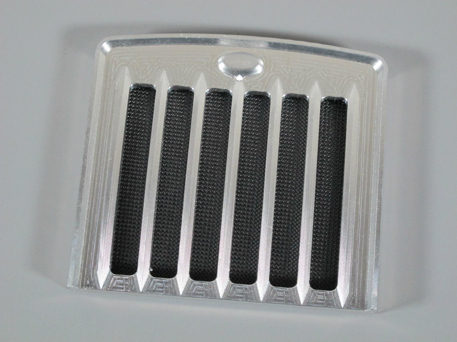 New Front Aluminum Grill Guard plate with mesh insert Tamiya King Grand Hauler