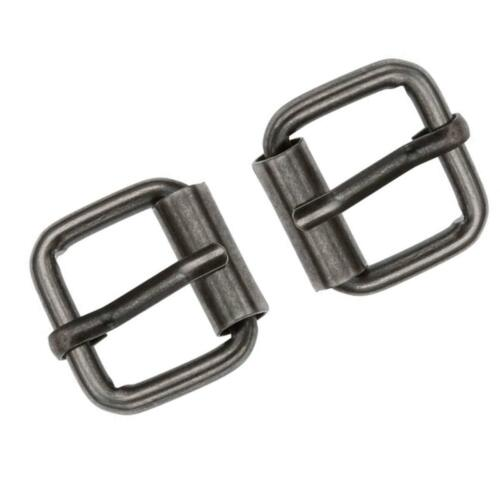 25mm Metal Square Roller Pin Buckle Single Pin DIY Leather Crafts Hardware Belt