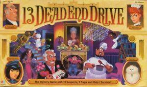 13-Dead-End-Drive-Board-Game-Replacement-Pieces-Parts-1993-Milton-Bradley-Cards