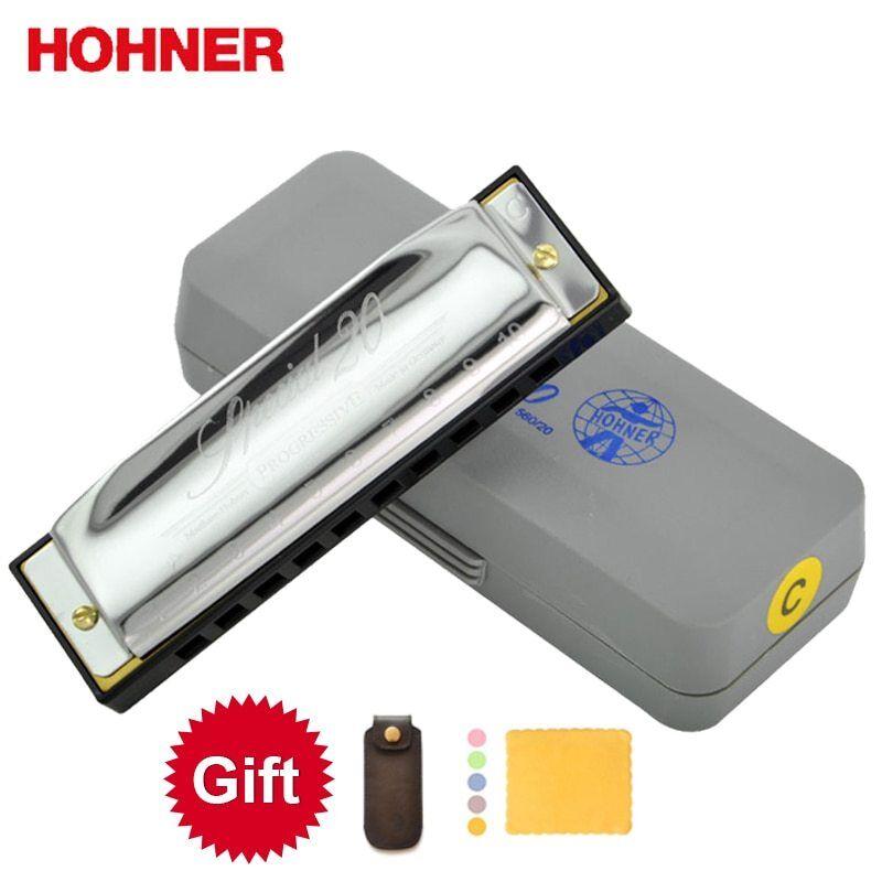 Hohner Diatonic Harmonica Special 20 10 Hole Major C,D,E,F,G,A