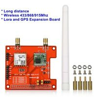 Wireless 868 / 915 Mhz Lora Shield and GPS Expansion Board for Raspberry PI