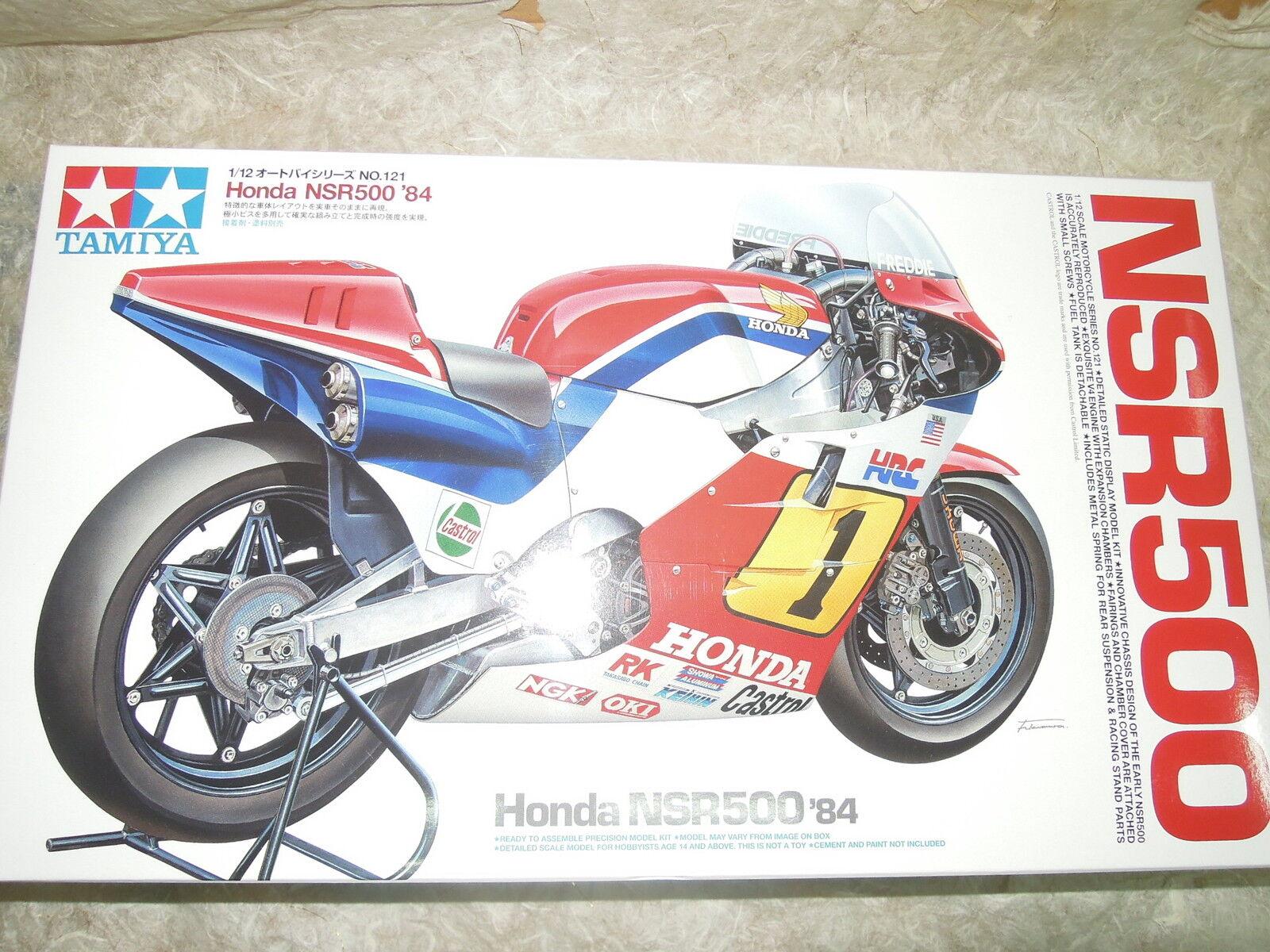 Tamiya 1 12 Honda NSR500 '84 Motocycle Model Kit + Front Fork Set