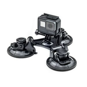 Triple-Suction-Cup-Car-Mount-For-GoPro-Hero-7-6-5-4-3-Action-Cam-Go-Pro-HD