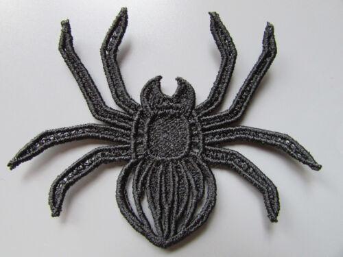 toutes couleurs Brodé noir spider applique à coudre//costume//artisanat//victorien