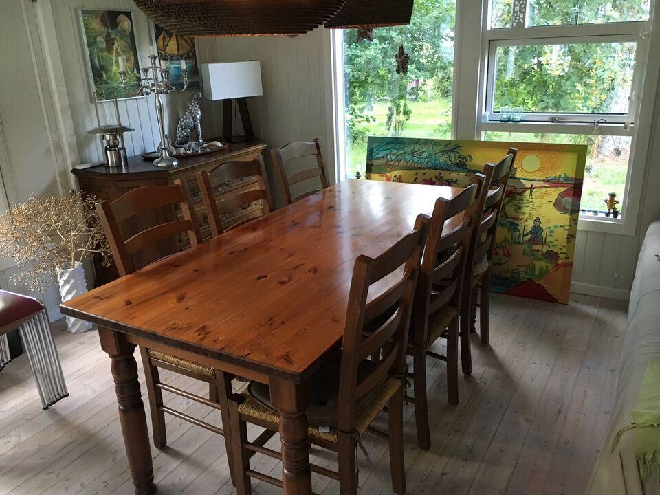 Spisebord, Træ, b: 87 l: 185