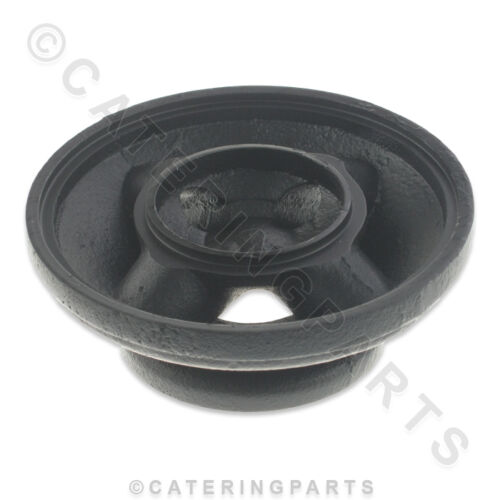 Blue Seal 227018 Top Nero Base BRUCIATORE A GAS Ciotola 114 mm per G56DF Open Top Fornello