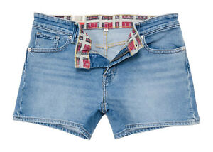 Levi-039-S-Damen-Regular-Fit-Denim-Shorts-in-Tropical-blau
