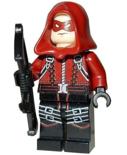 **NEW** LEGO Custom Printed DC Universe Arsenal Minifigure SDCC RED ARROW