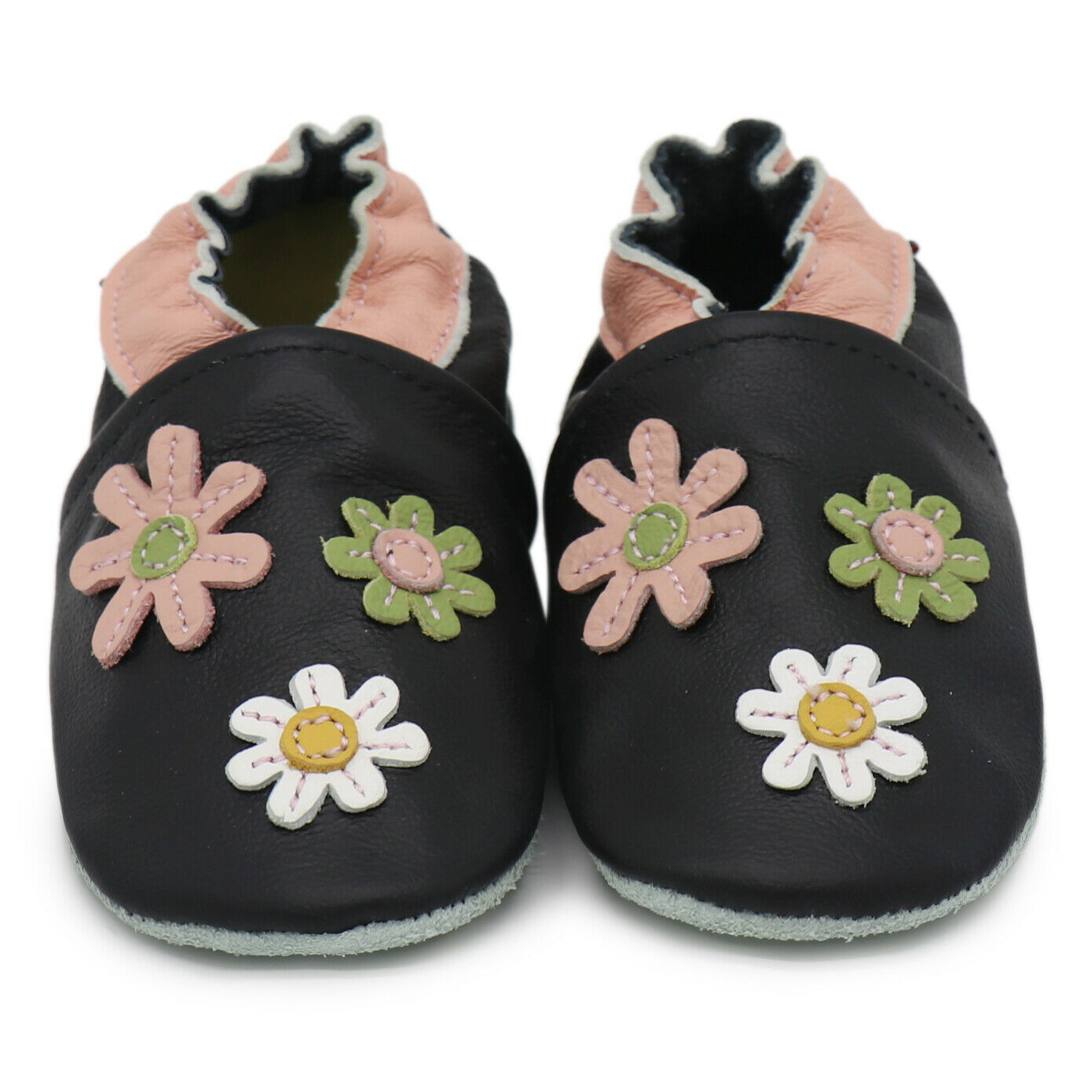 Carozoo 3 Flowers Black 2-3y