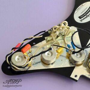 Kit-Controle-Electronique-HH-PreCable-sur-Pickguards-Stratocaster-2V-1T-PreWired