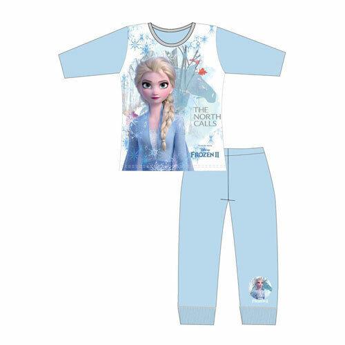 Girls Disney Frozen 2 Elsa Long Pyjamas Pjs Age 4-10 Year The North Calls