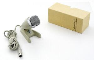 GRUNDIG-GDM-121-Sennheiser-MD21-Vintage-Microphone-Microphone-Stativ-amp-ovp