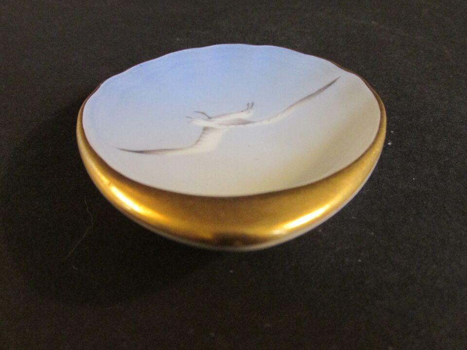 Porcelæn, Mågestel smør asiet , Bing & Grøndahl