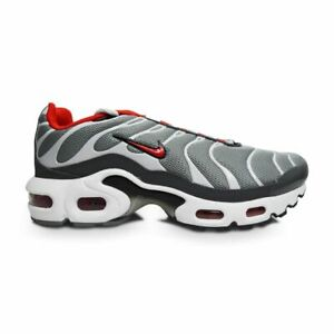 Details about Juniors Nike Tuned 1 Air Max Plus TN (GS) CD0609 005 grey university red