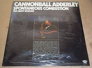 CANNONBALL-ADDERLEY-Spontaneous-Combustion-Savoy-SJL-2206-SEALED
