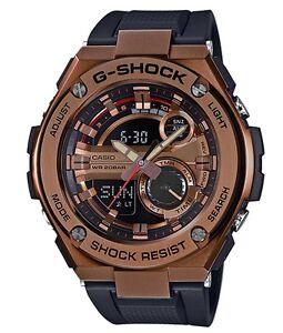 Casio-GShock-G-STEEL-GST210B-4A-Rose-Gold-Steel-Case-Black-Resin-Ivanandsophia