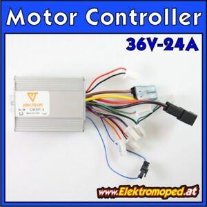 Ersatzteil Elektro-Scooter Motor Controller 36V 24A Modell OK5P 500W Regler esc
