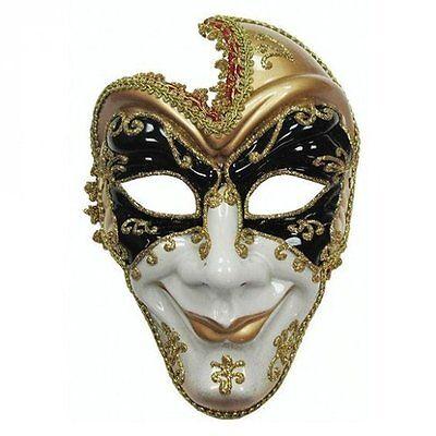 Full Face Venetian Man Mask for Masquerade Fancy Dress Accessory