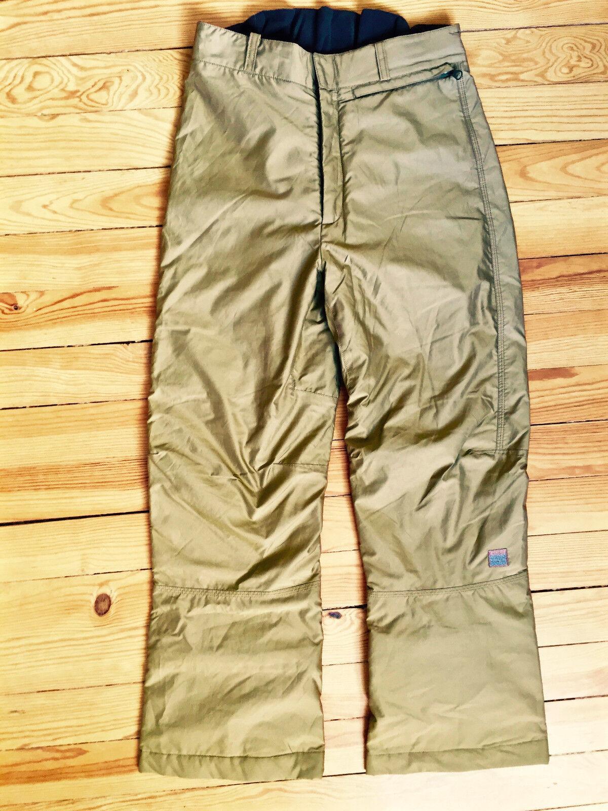 Lusso Pantaloni da Sci Dorato Marithe Francois Girbaud T 44 Fr I48 come Nuovo
