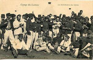 CARTE-POSTALE-AVEYRON-CAMP-DU-LARZAC-LA-DISTRIBUTION-DES-LETTRES