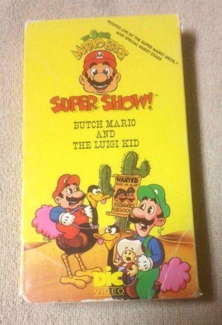 Super Mario Bros Super Show 5 Butch Mario And The Luigi Kid Vhs 1989