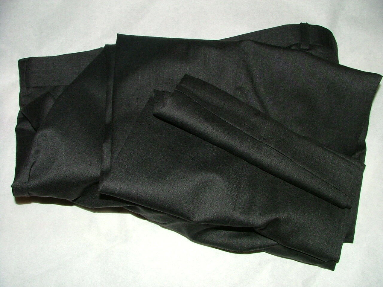 MENS PAZONI DRESS PANTS SIZE 40 X 27 100% WOOL MADE IN ITALY CHARCOAL SOLID