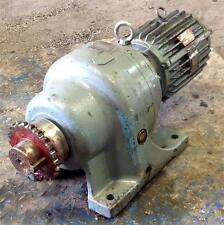 FUJI ELECTRIC 90:1 RATIO 3HP GEARED MOTOR TYPE MGK1412A-44Y1F