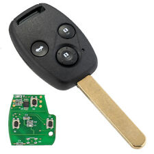 3-Buttons 313.8MHz Remote Key Shell Fob ID46 Chip for Honda Accord Civic 03-07