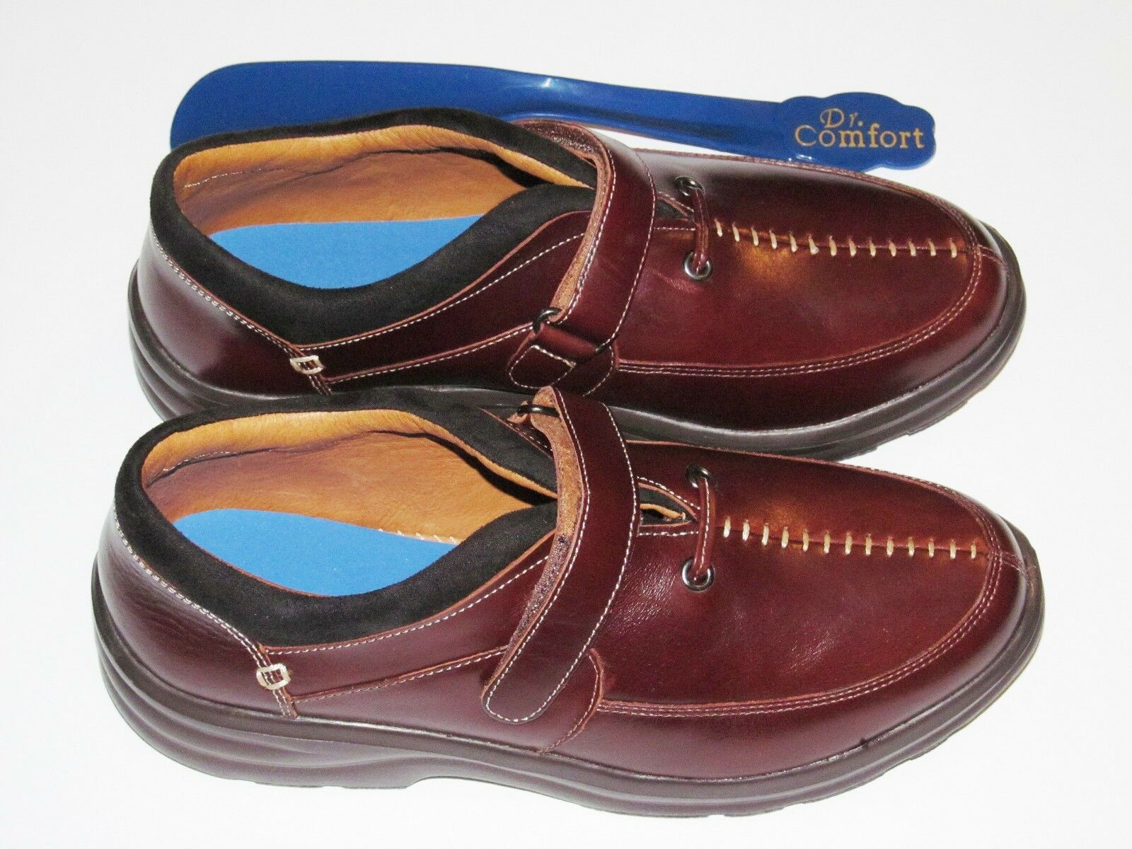 New Dr Comfort Comfort Dr Walnut Damens Delight Leder Diabetic Therapeutic Schuhes MSRP 174 caddaf