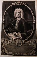 1744 Buder Christian Gottlieb Jena schabkunst-ritratto Haid
