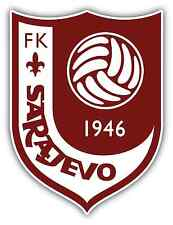 "FK Sarajevo FC Bosnia Football Soccer Car Bumper Sticker Decal 4""X5"""