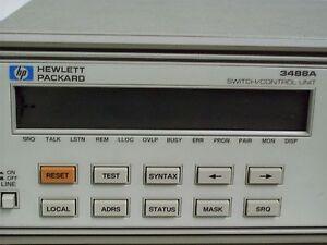 hp 3488a switch control unit e w service manual ebay rh ebay ca hp 3488a user manual HP Product Manuals