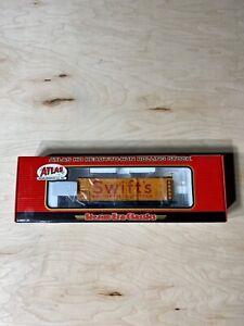 Ho-Scale-Atlas-36-Wood-Reefer-Car-Swift-s-Road-2430-New-In-Box