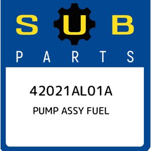 42021AL01A-Subaru-Pump-assy-fuel-42021AL01A-New-Genuine-OEM-Part