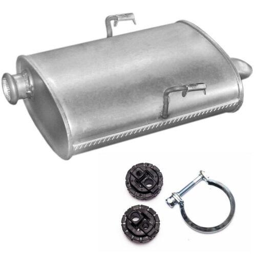 Montagesatz Endschalldämpfer Auspuff  Peugeot 406 2.0HDI 2.2HDI Stufenheck