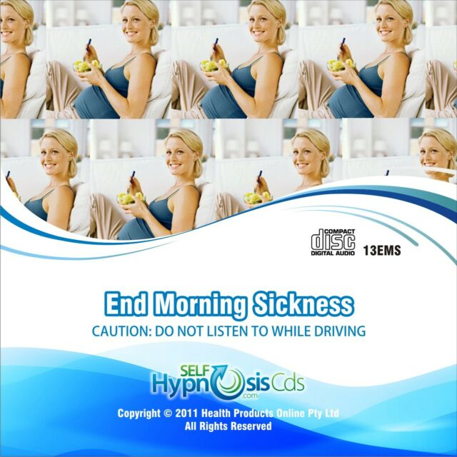 End Morning Sickness Pregnancy Hypnosis Audio CD Natural Hypnotherapy Remedy