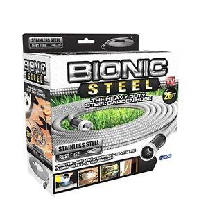 Bionic Steel Heavy Duty High Quality 304 Grade Stainless Steel Metal Garden Hose