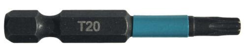 Makita B-63781 Schlag Schraubendreher-Bit 2 Stück  T20 50 mm aus S2 Sepzialstahl