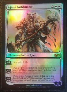 Ajani-Crinieredor-PREMIUM-FOIL-VO-English-Ajani-Goldmane-Mtg-Magic-M10