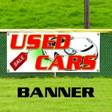 Used Car Sale Retail Auto Dealer Lot Advertising Art Decor Vinyl Banner Sign