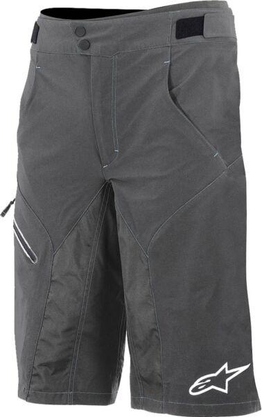 100% Vero Alpinestars Outrider Wr Impermeabile Da Uomo Ciclismo Pantaloncini Di Base-grigio