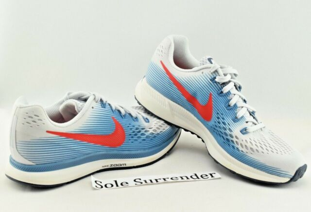 super popular 94c33 81edc Nike Air Zoom Pegasus 34 - Size 7 - 880555-016 USA Red Grey Gray Blue  Running for sale online   eBay