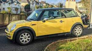 2002 MINI ONE 1.6 Manual, Petrol, Yellow, New MOT, New Tyres, Great Condition