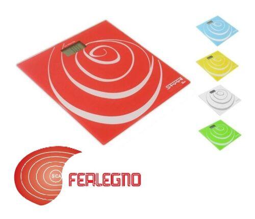 Libra Personenwaage Pesa Persona Elektronik Verschiedene Farben 150KG Mod.rose