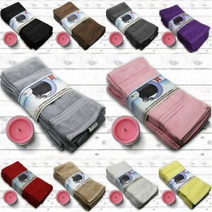 De-Lujo-700-GSM-Paquete-de-12-toallas-de-tela-cara-de-algodon-100-Lavado-Pano-Franelas