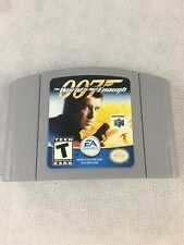 World Is Not Enough Nintendo 64 2000 For Sale Online Ebay