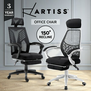 Artiss Office Chair Gaming Computer Chairs Study Work Home Mesh Recliner